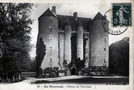 Замки Луары - замок Шевенон