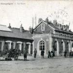 железно-дорожная станция Компьен