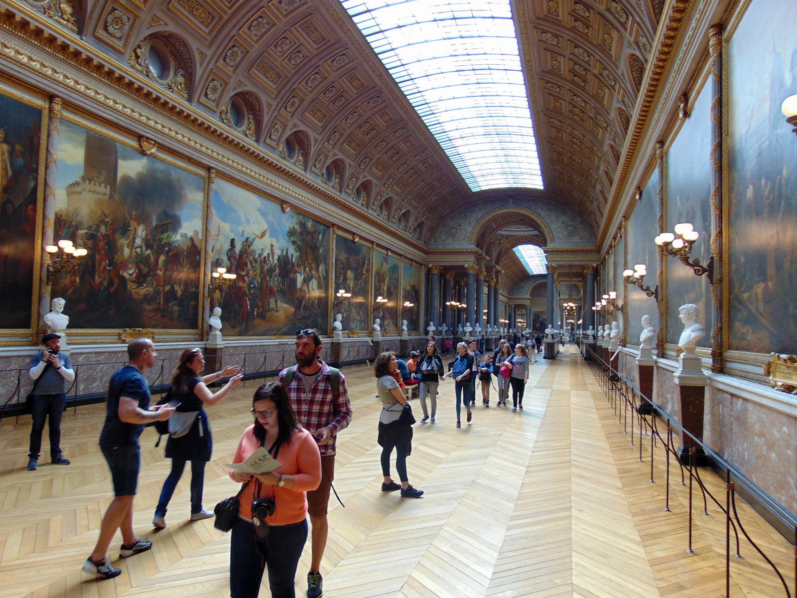 Версаль, художники баталисты