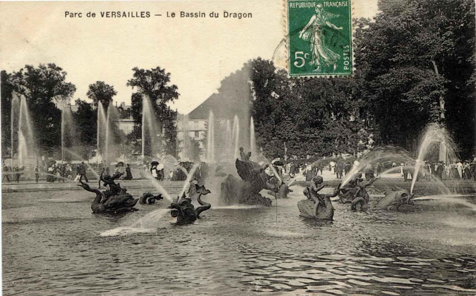 экскурсия по парку и садам Версаля