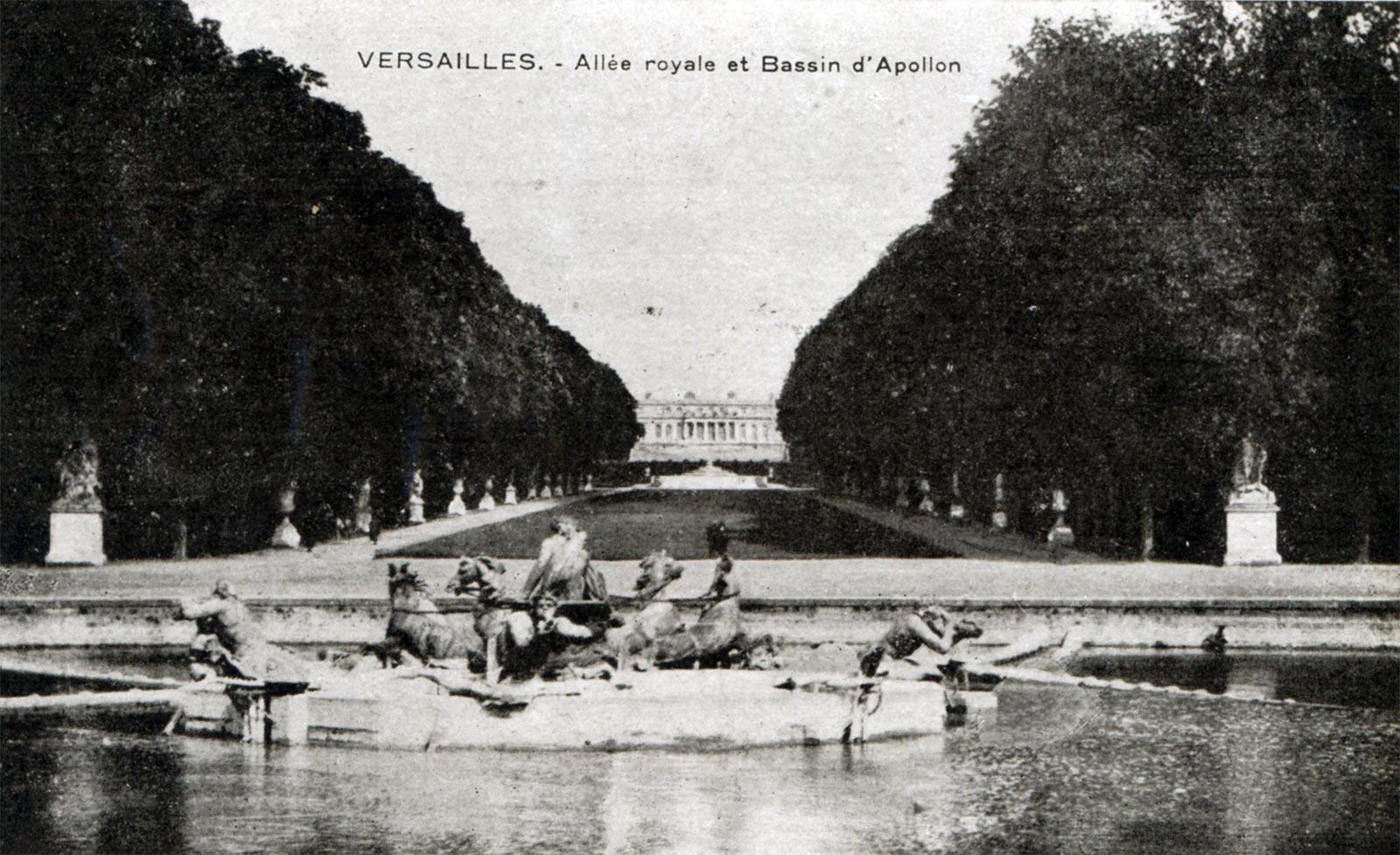экскурсия по парку Версаля