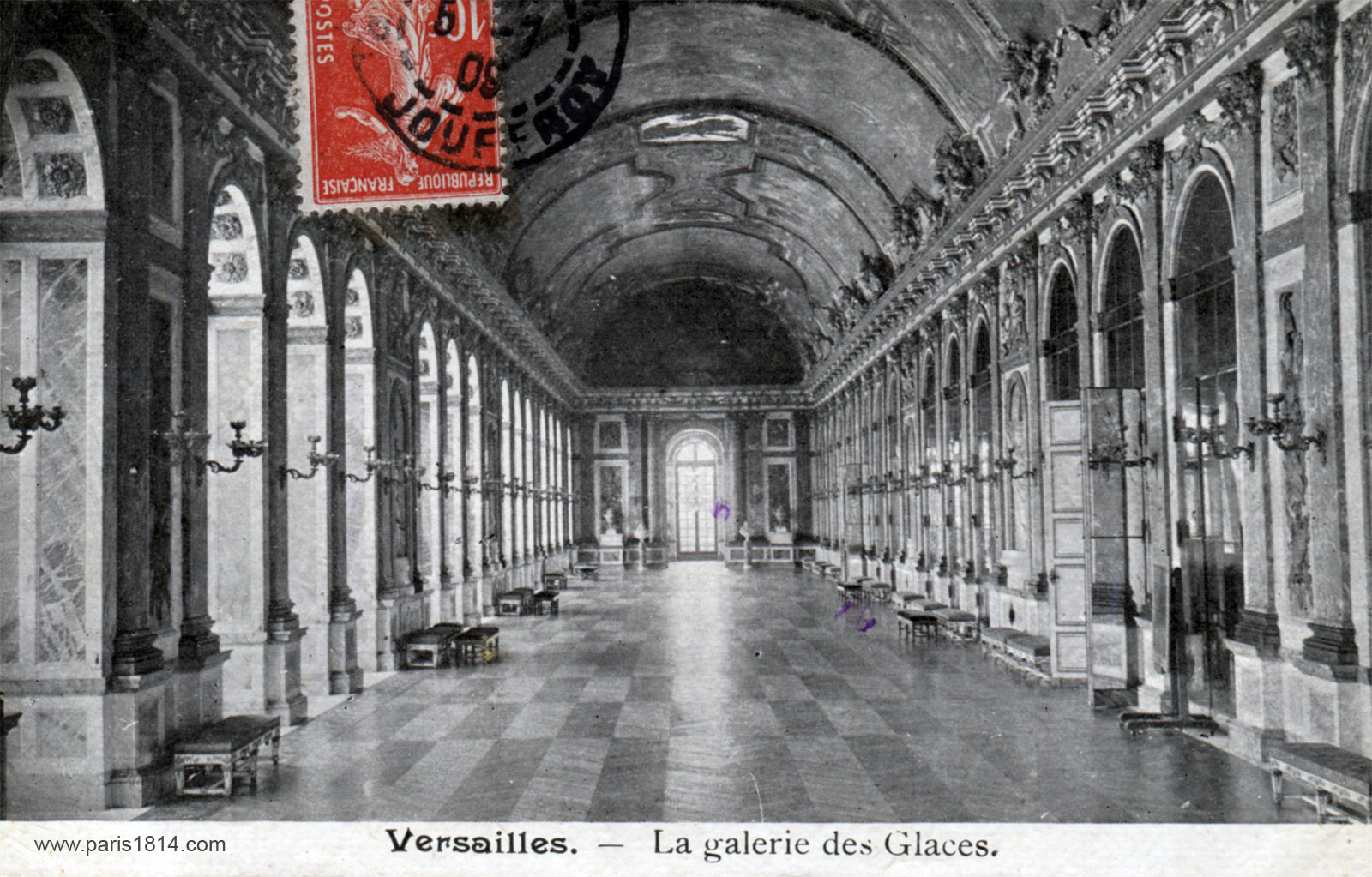 экскурсия внутри Версальского дворца