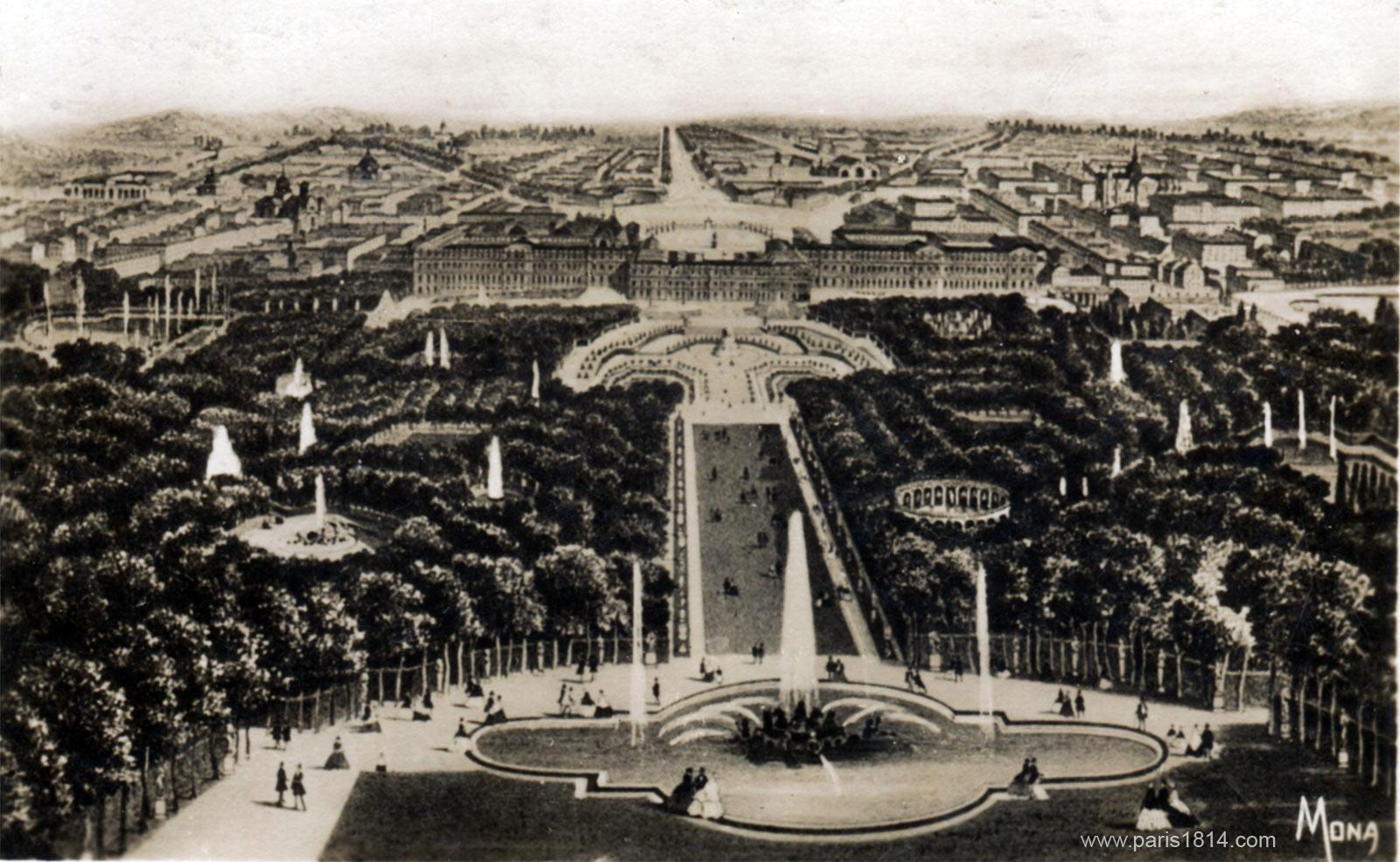экскурсия в старый Версаль