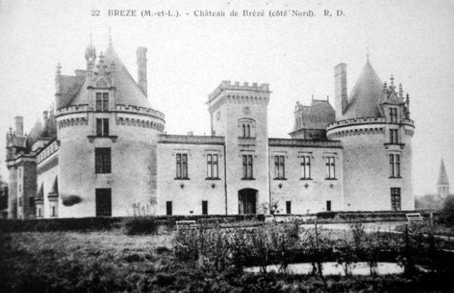 замки Луары - подземная крепость Брезе