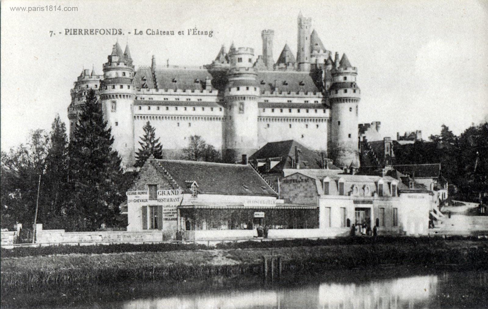 экскурсия в Шампань, замок Пьерфон