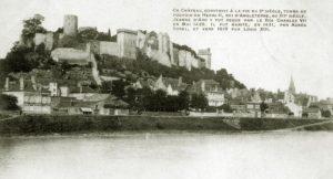 как добраться добраться до замка Шинон из Парижа