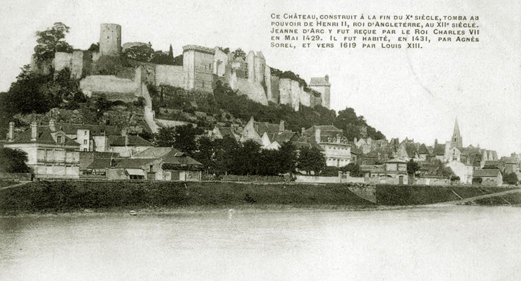 Замки Луары экскурсии из Парижа в Шинон