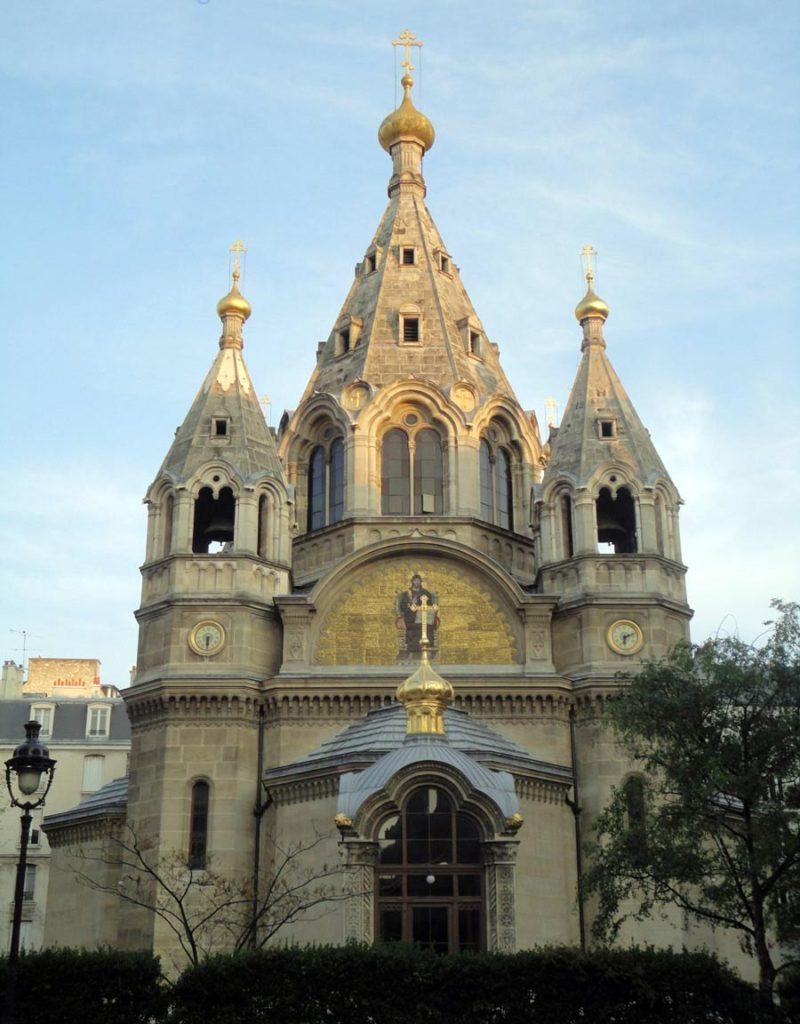 Собор Святого Александра Невского в Париже