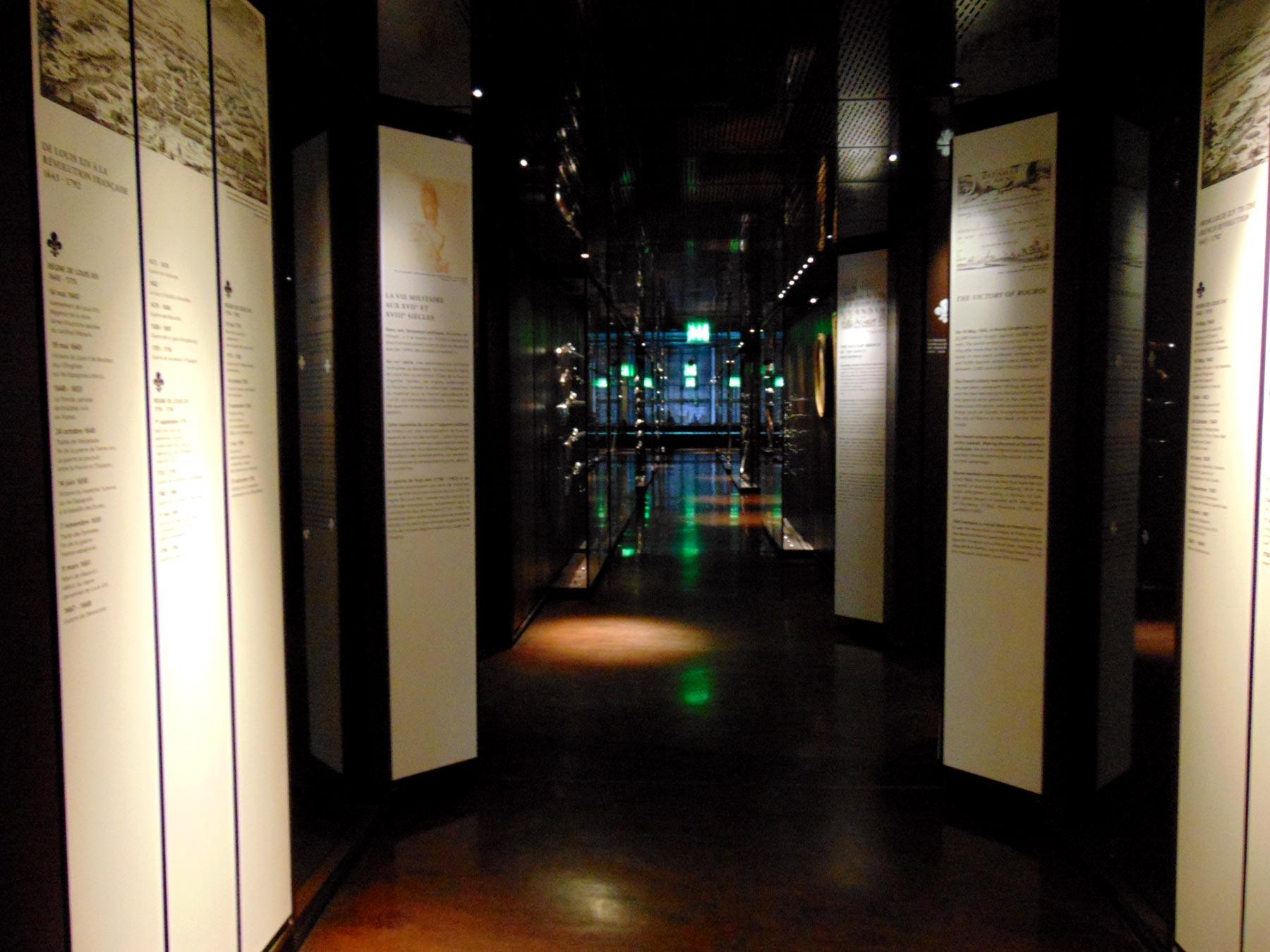 Музей Армии в Париже, оружие Нового времени