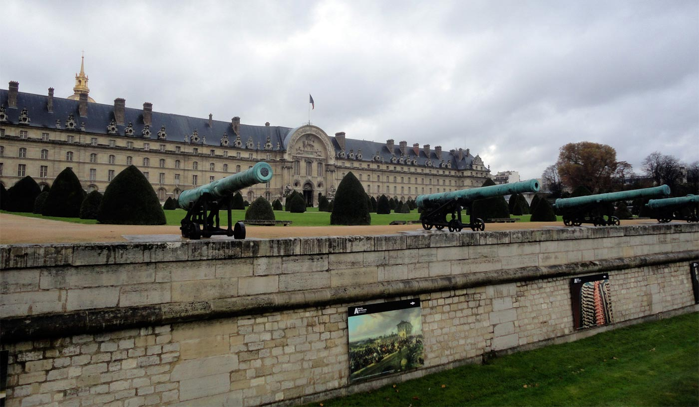 Дом Инвалидов в Париже, где расположен Музей Армии