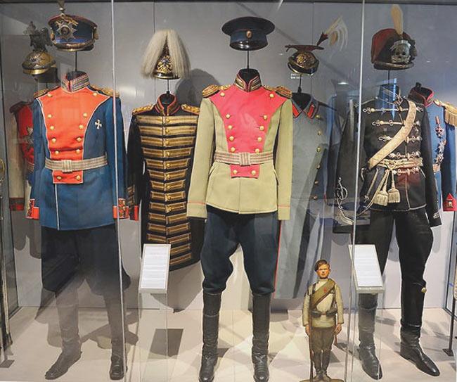 Музей Армии в Париже, русский раздел