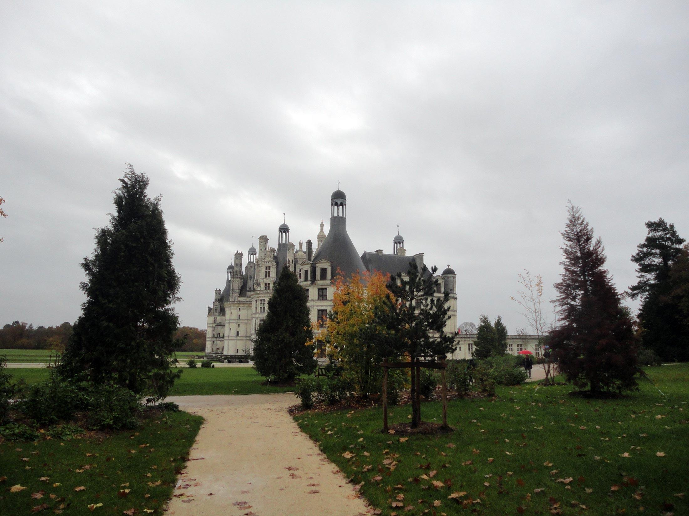 парк замка Шамбор