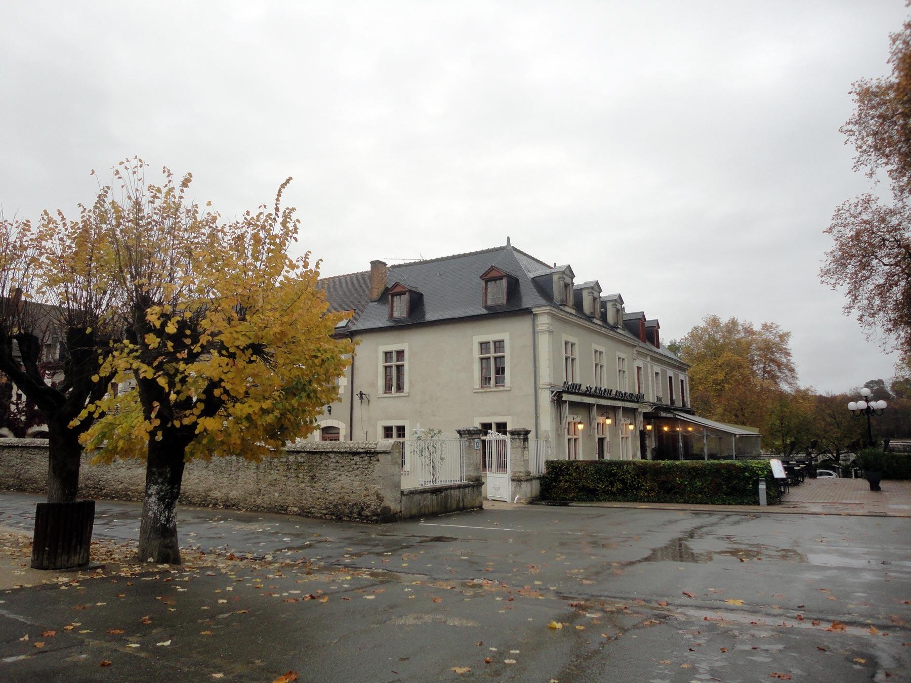 поездка из Парижа в Шамбор в ноябре 2014 года