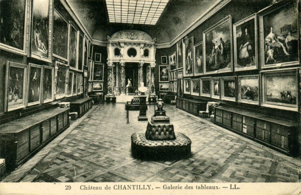 экскурсия в музей Конде и замок Шантийи