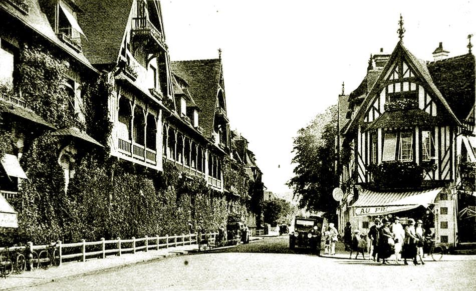 поездка в Нормандию в начале XX века