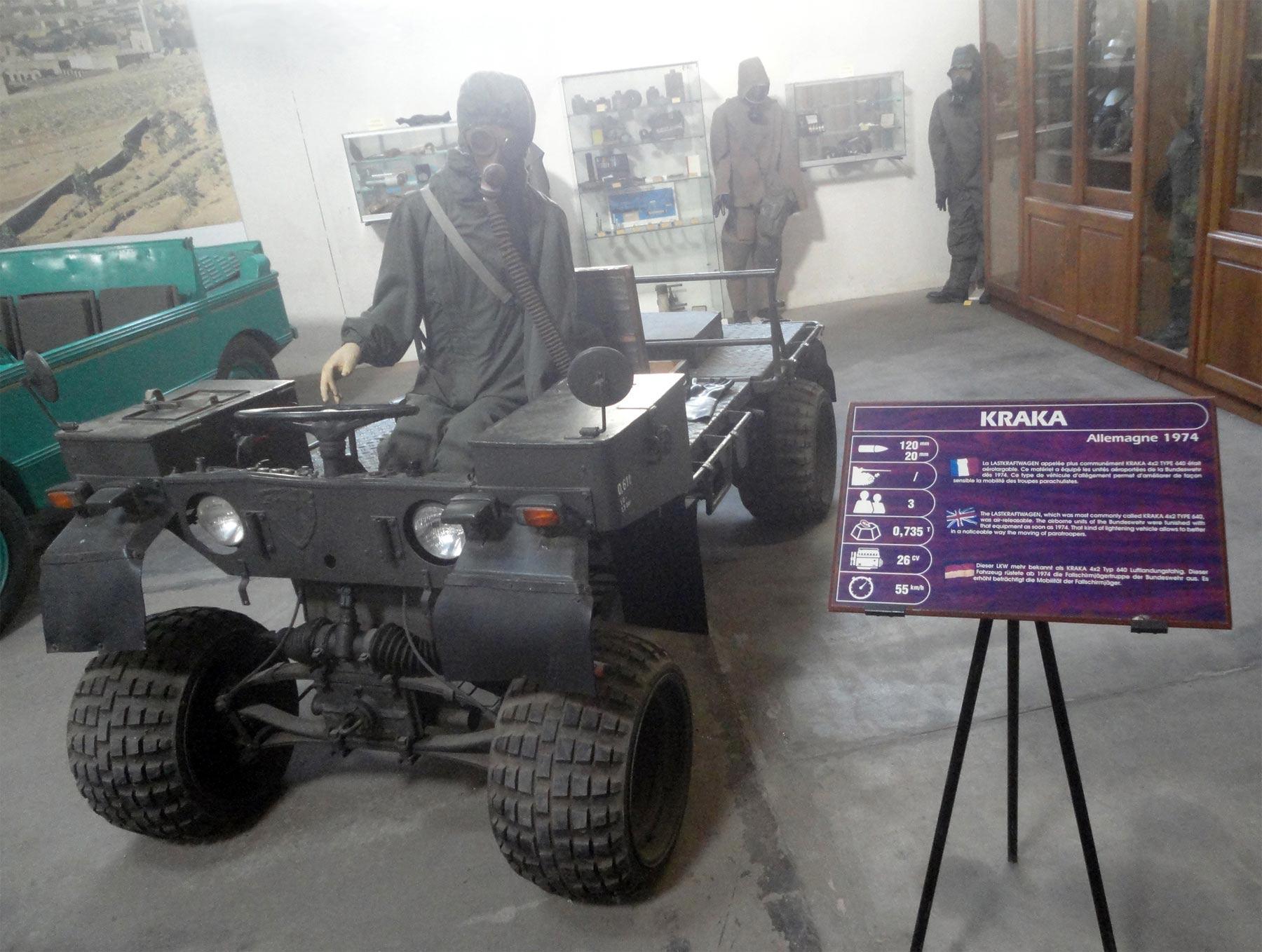 достопримечательности бронетехники музея в Сомюре