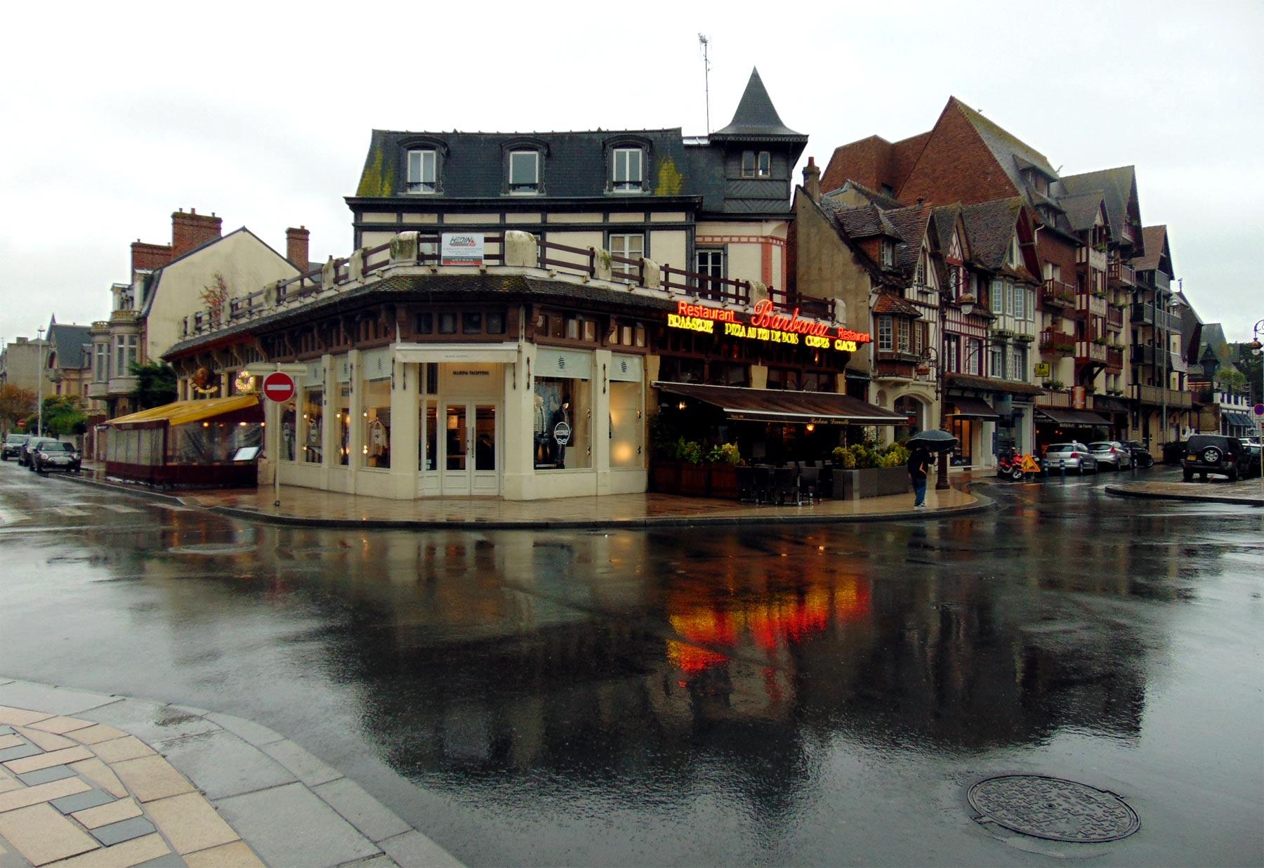 экскурсия в Нормандию рестораны Довиля