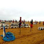 пляжи Довиля осенью