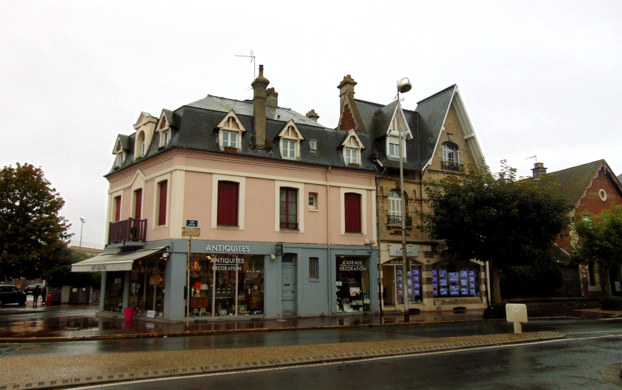 Экскурсия в Нормандию по городу Довиль