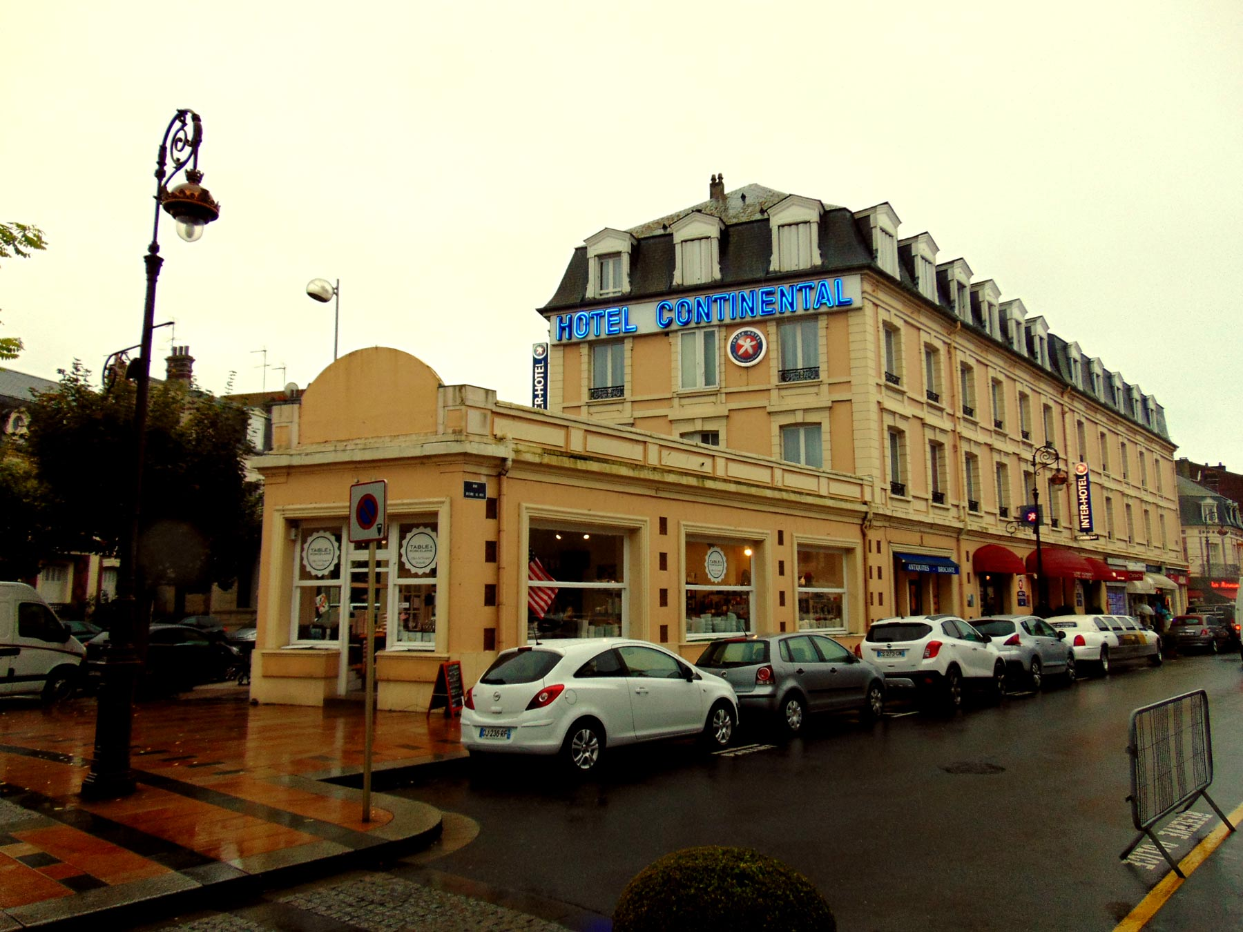 Отель Континенталь в Нормандии Довиль