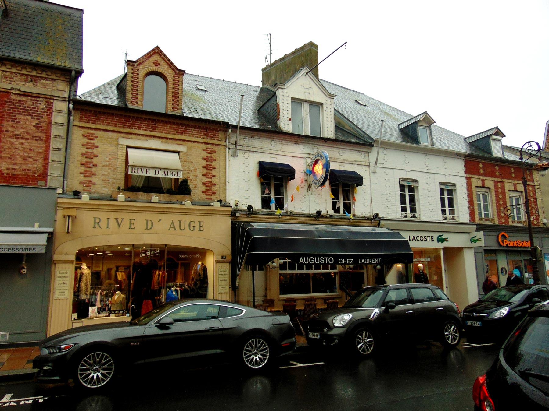 рестораны в Довиле экскурсия в Нормандию