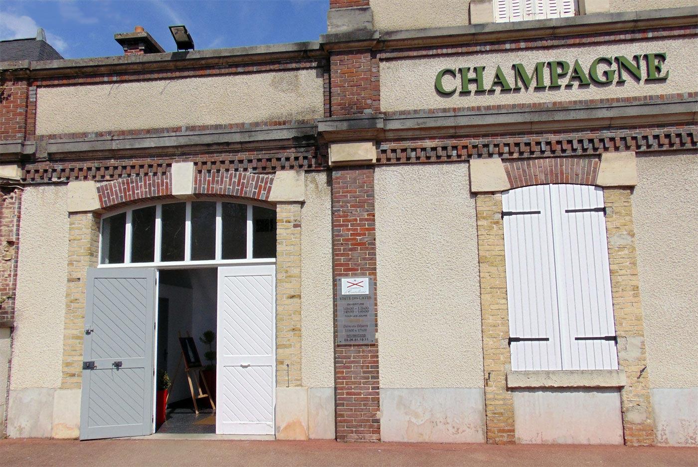 Эперне экскурсии шампанского, музей де Кастеллан