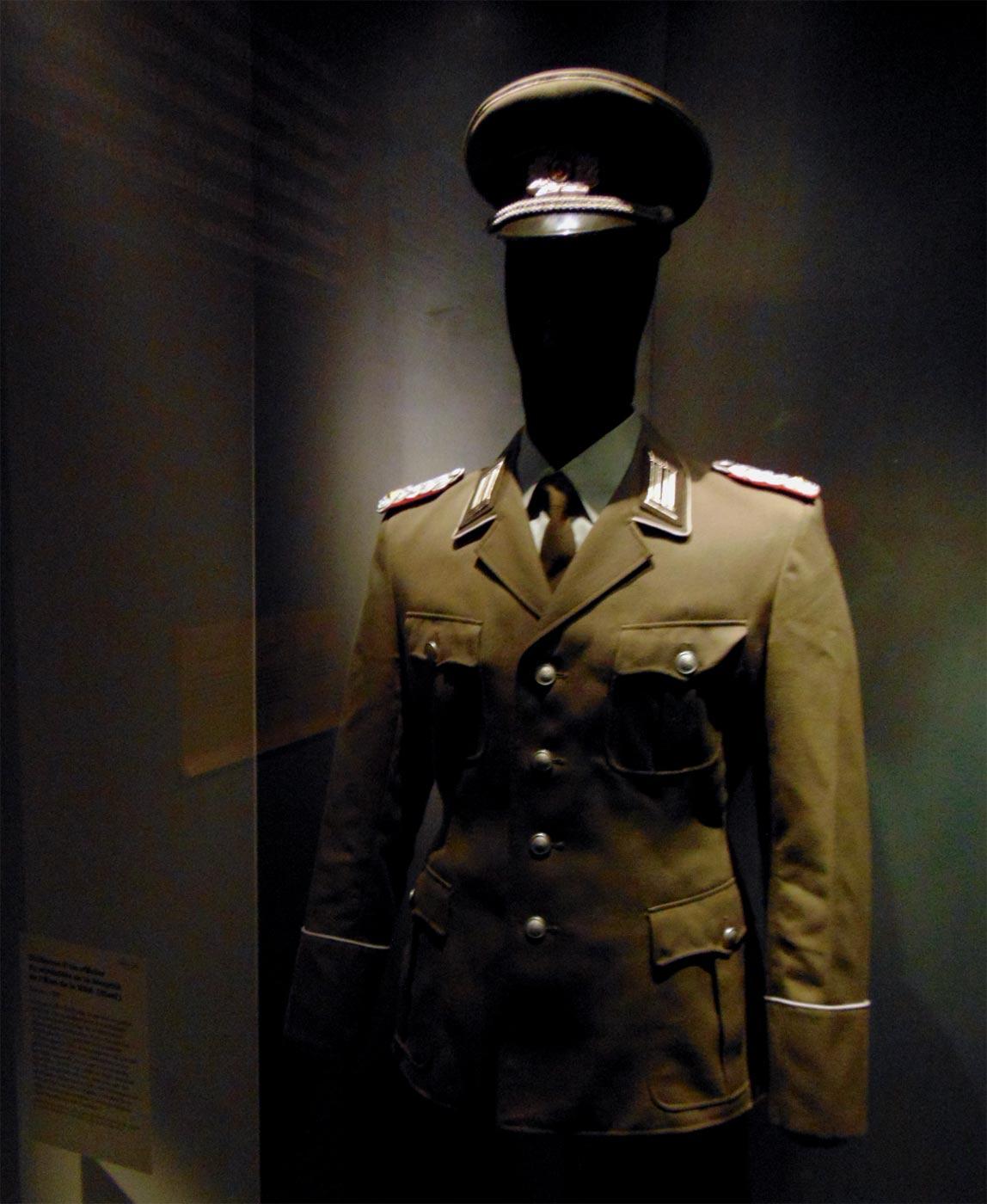 военная форма ГДР Штази