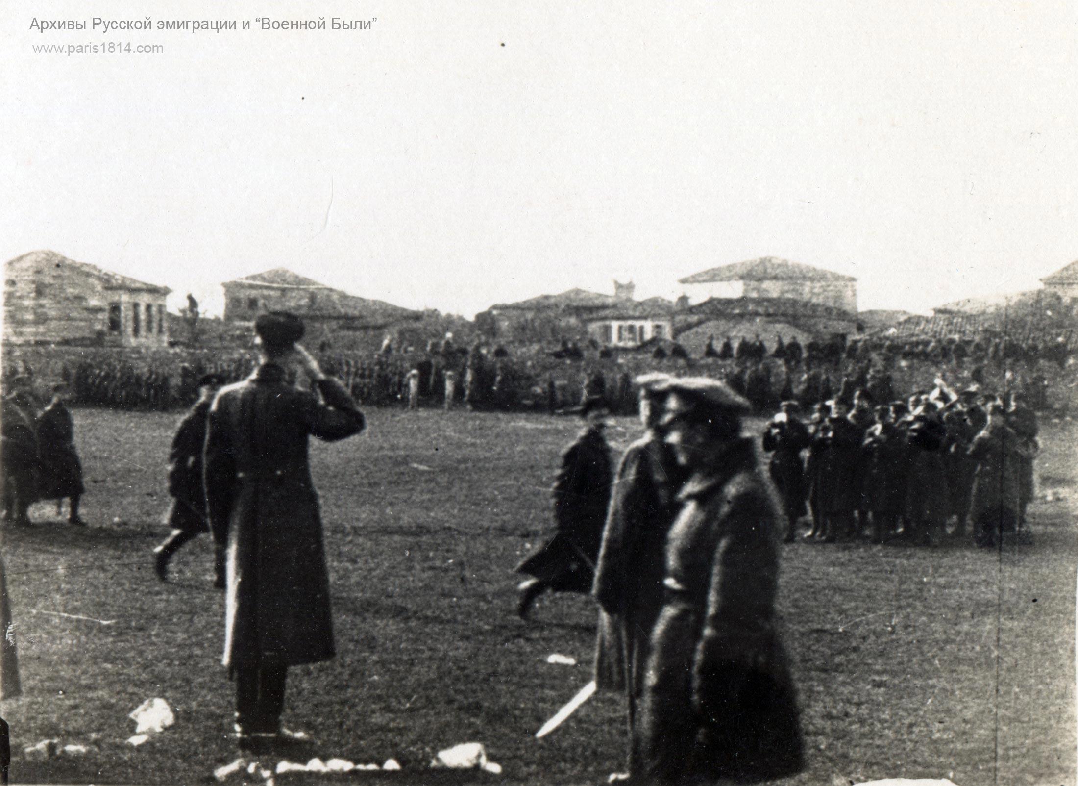 генерал Врангель в Галлиполи