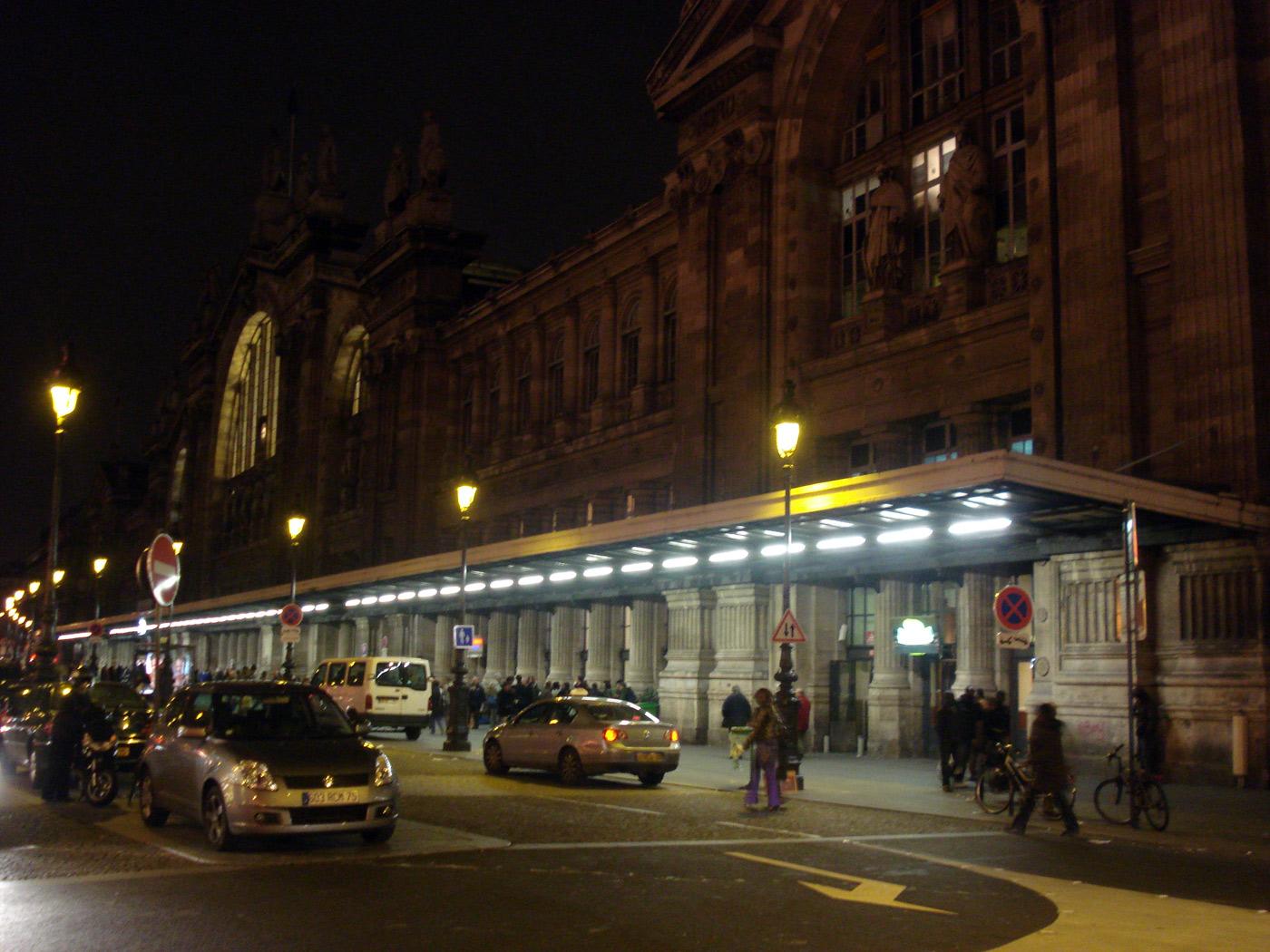 Достопримечательности Парижа Северный вокзал