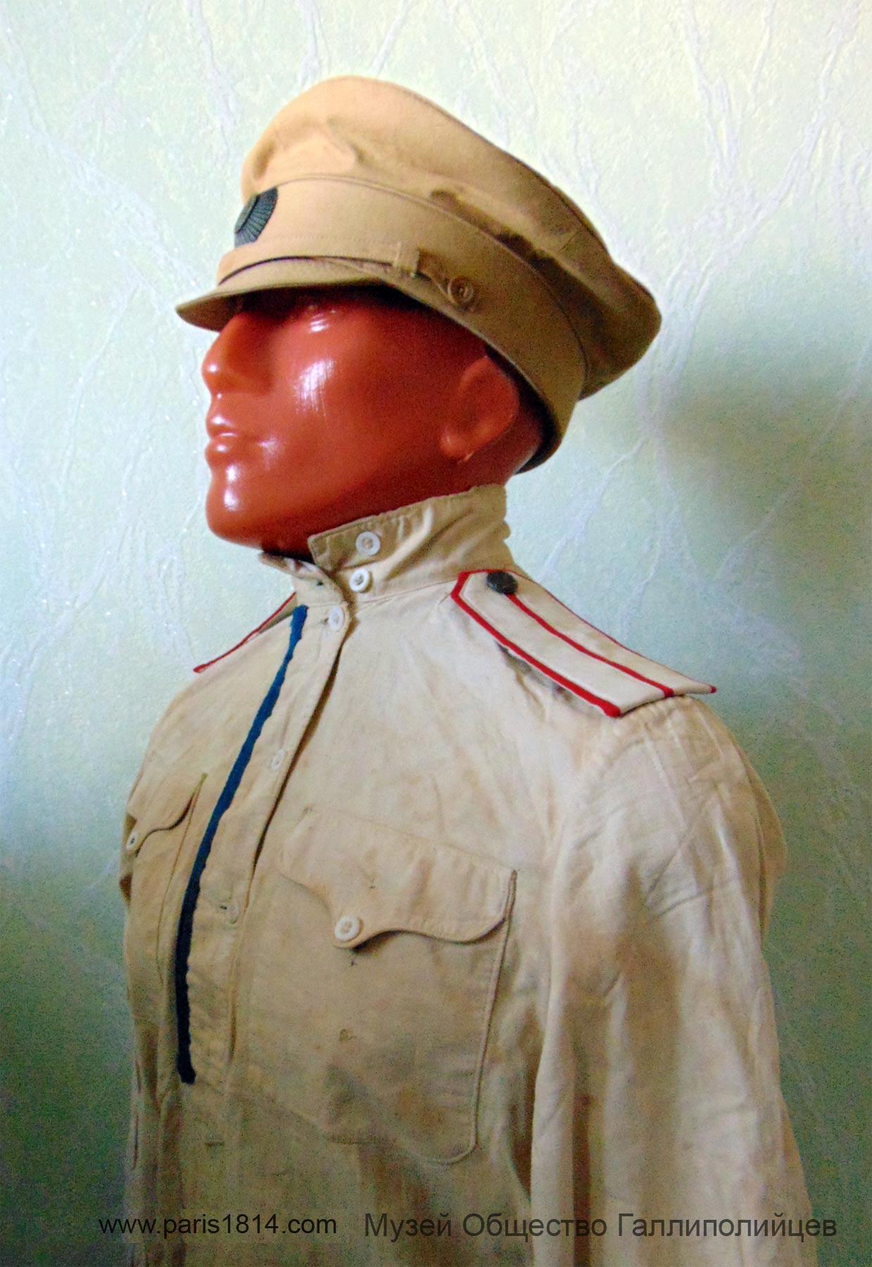 Галлиполи Музей униформа