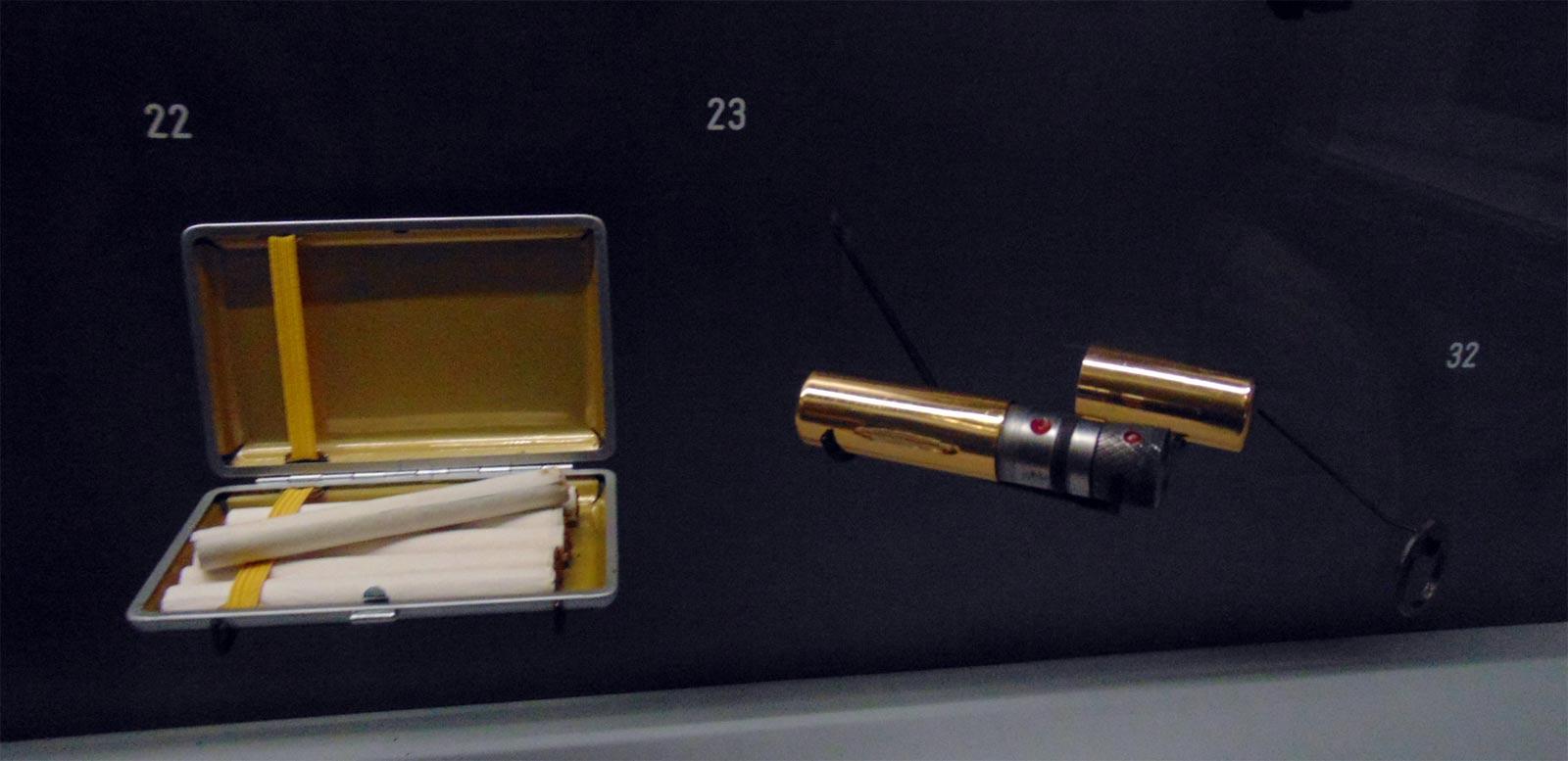 стреляющие сигареты для диверсантов