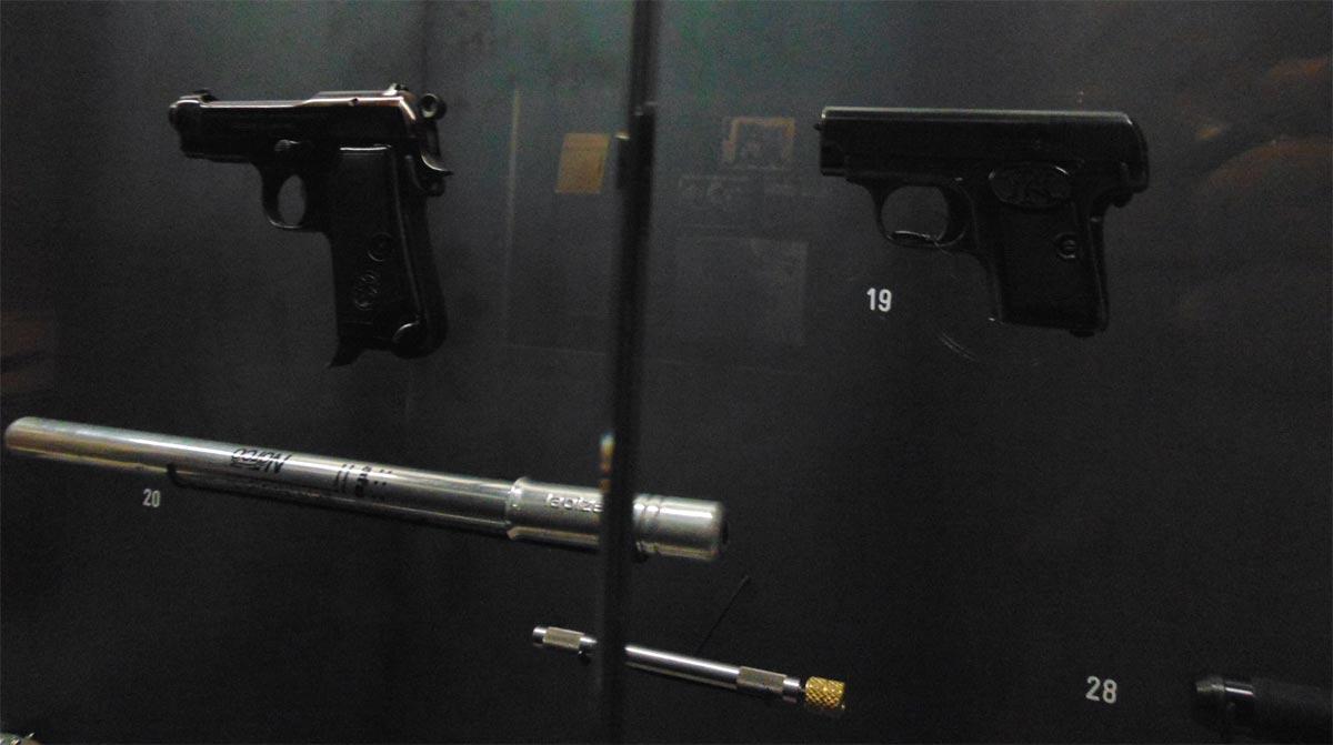 шпионские компактные пистолеты
