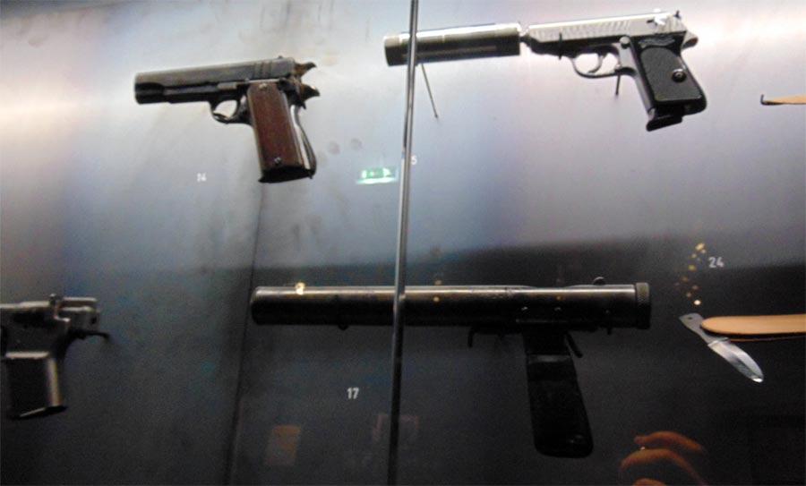 бесшумные пистолеты спецслужб