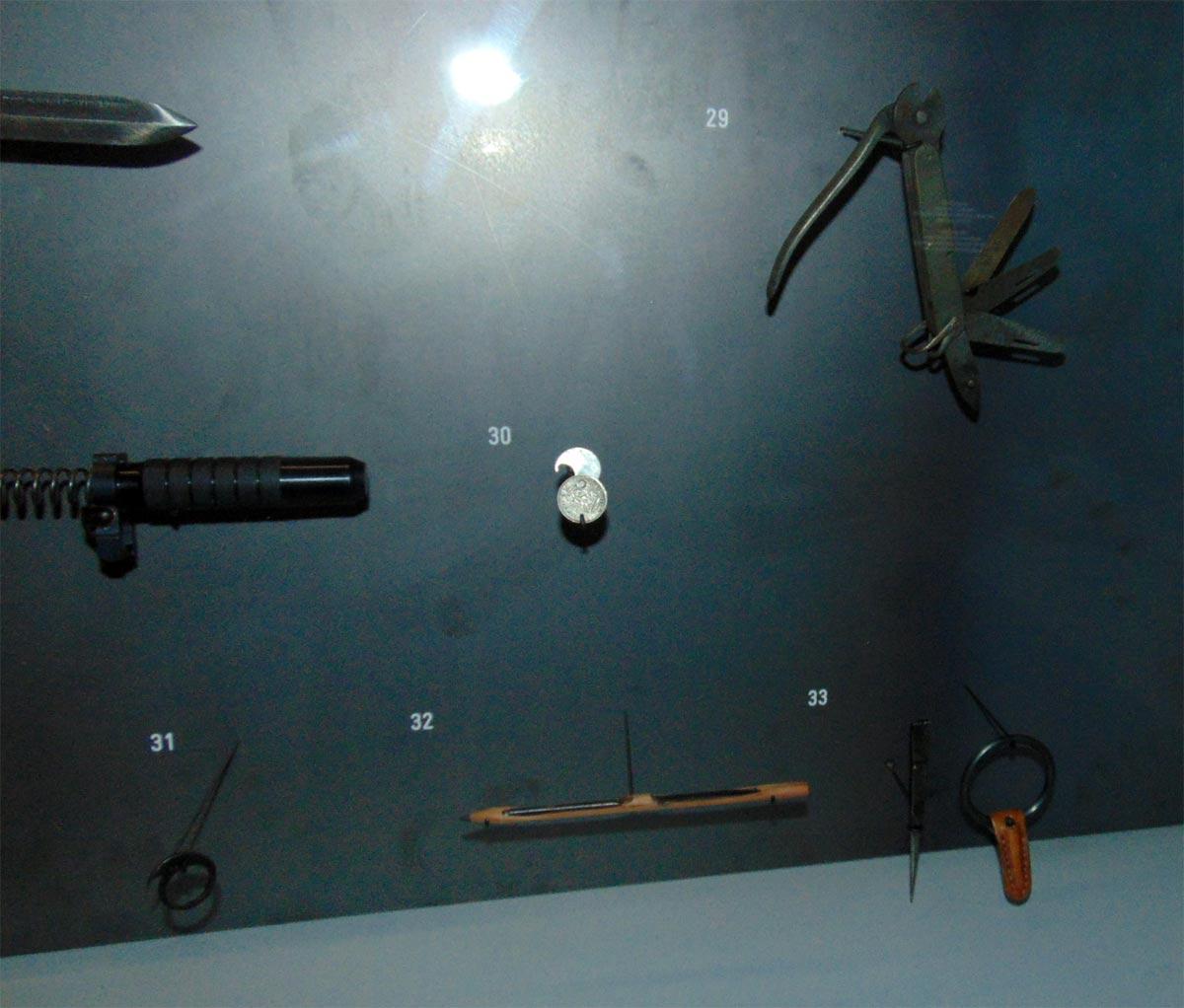 колюще-режущие шпионские предметы