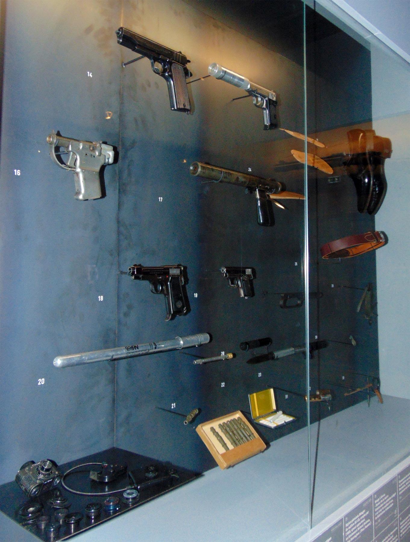 бесшумные пистолеты