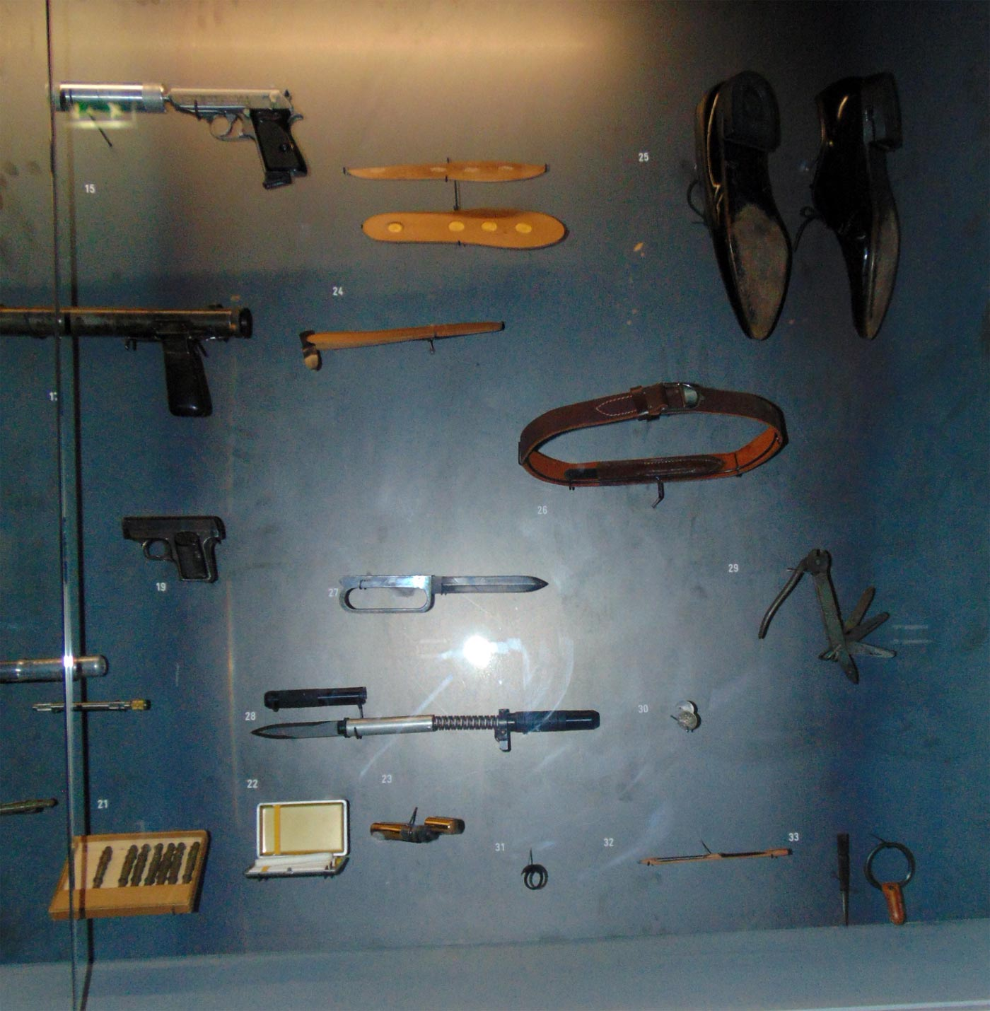 шпионские ножи иностранных спецслужб