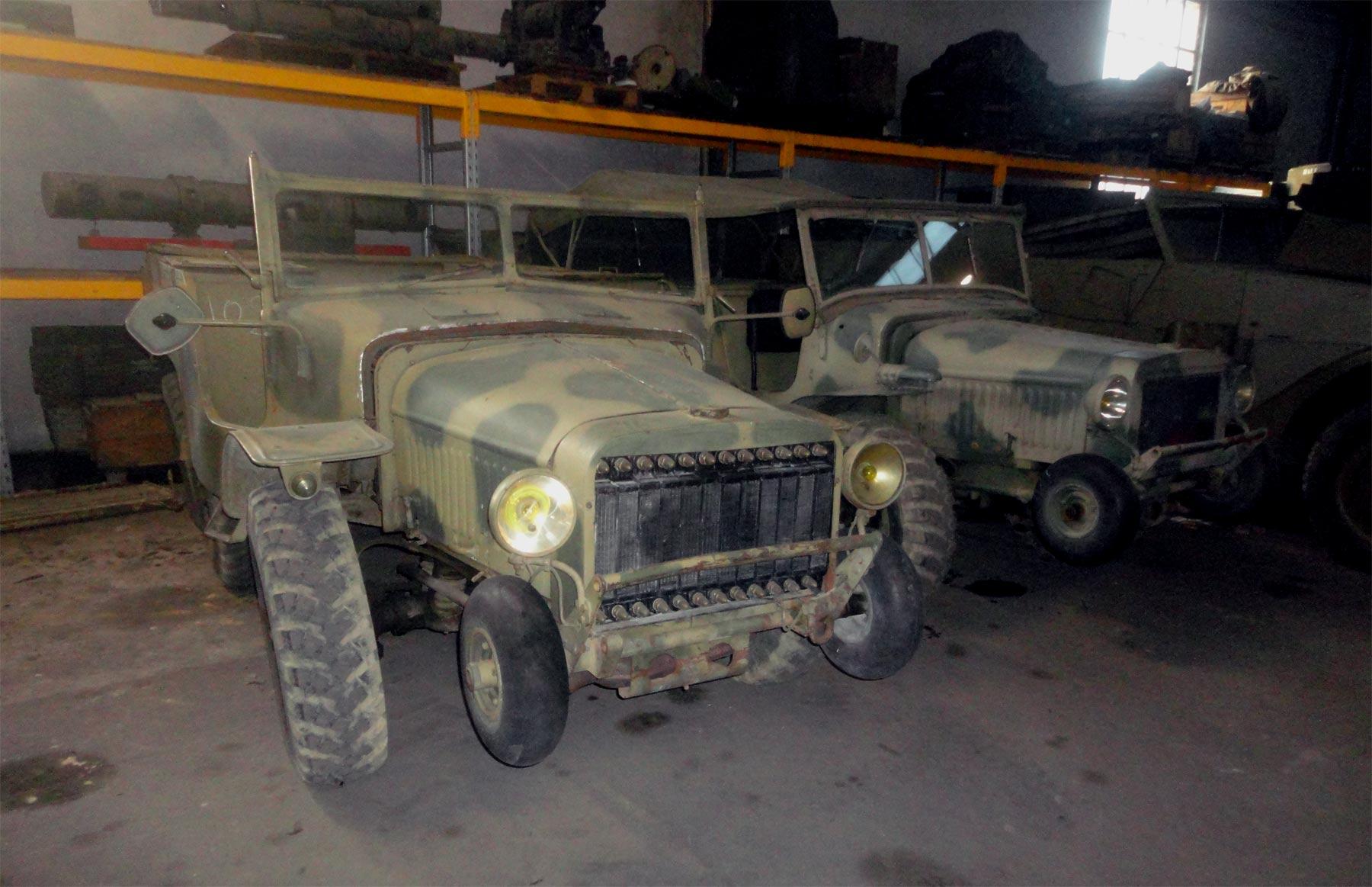военные автомобили Франции из коллкции танкового музея в Сомюре