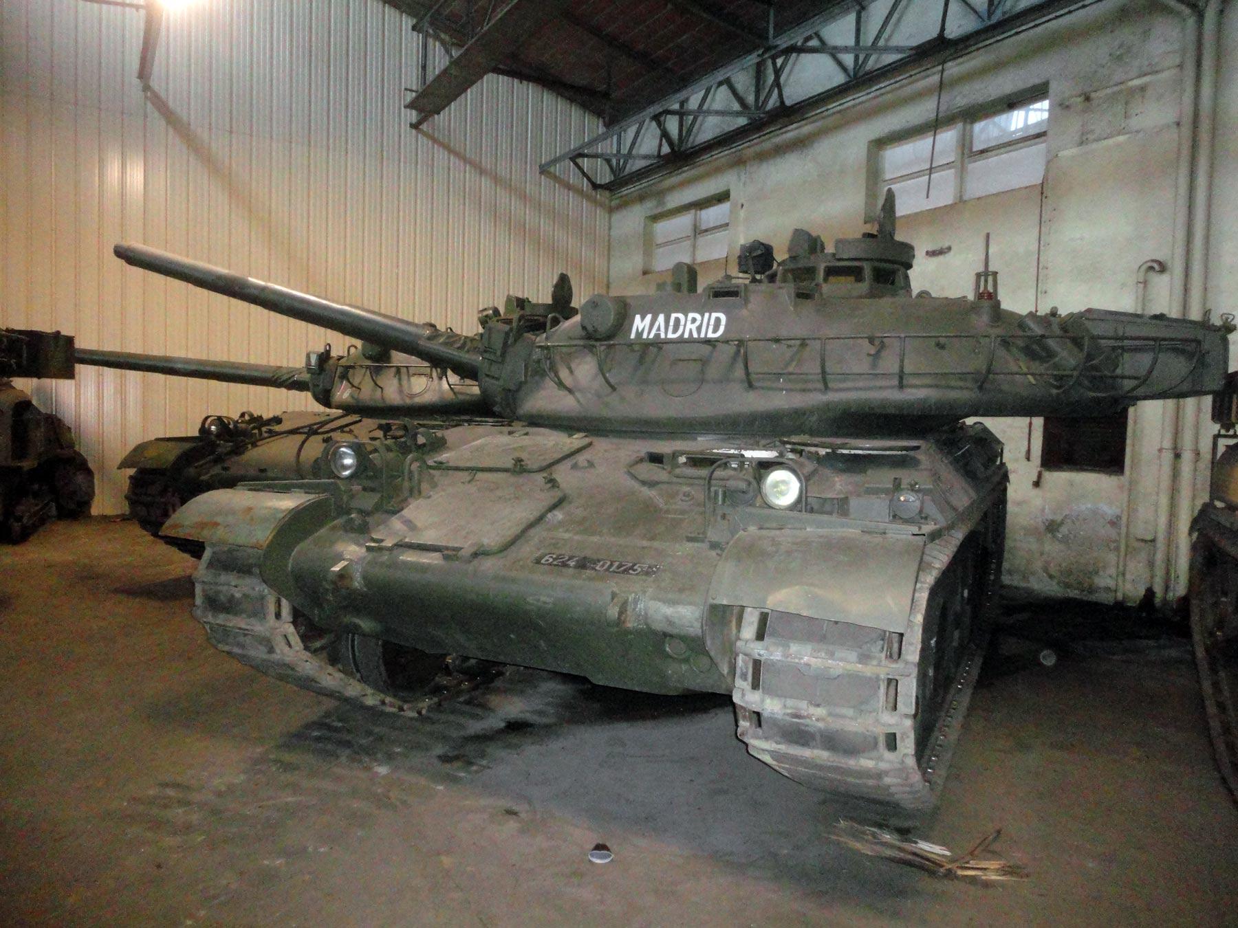 французские танки периода холодной войны