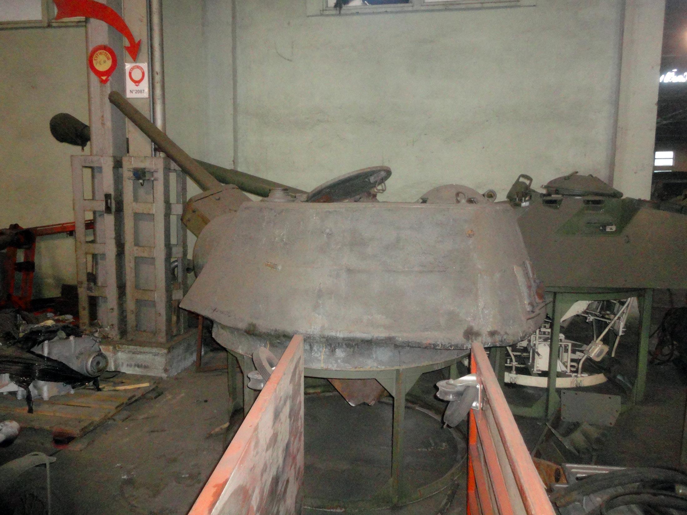 реставрация танков второй мировой войны