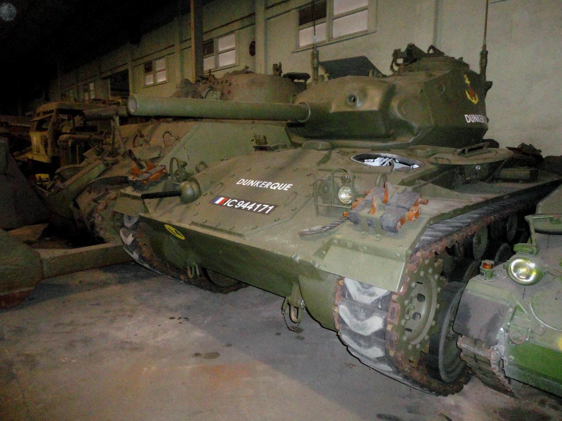 танки операции D-day в музее