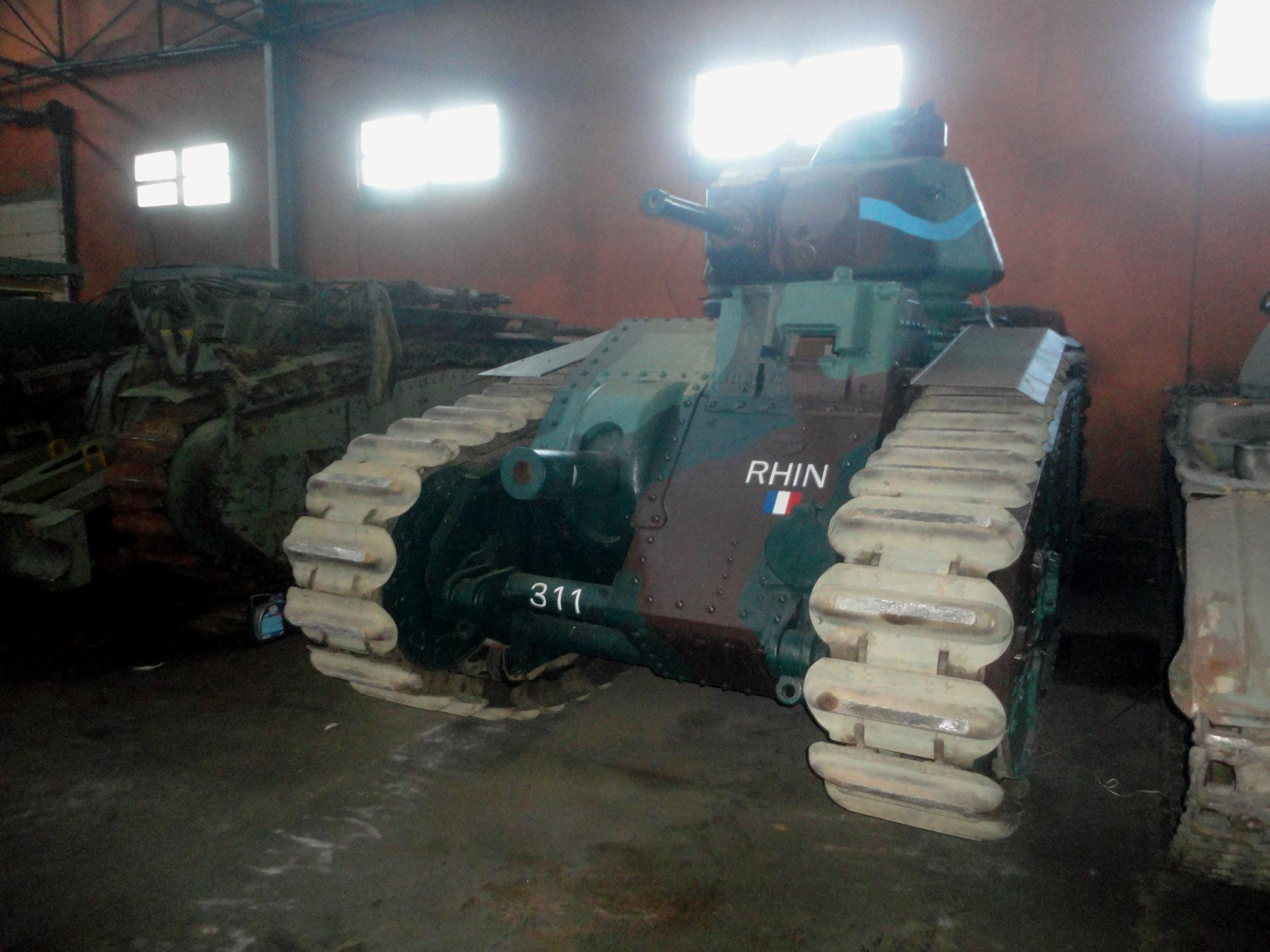 французские довоенные танки