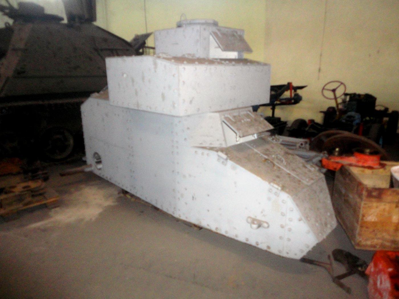 танки первой мировой войны в музее