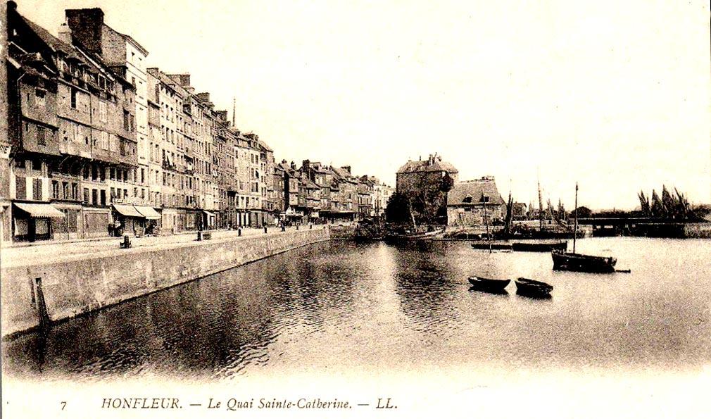 Нормандия, приморский город Онфлер