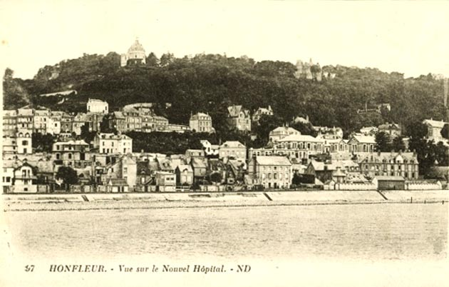 Нормандия, Онфлер, старые фотографии