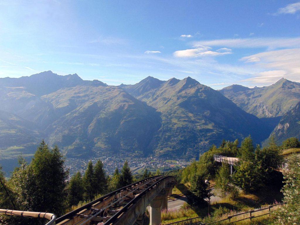 горные курорты Франции летом, Лез Арк