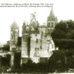 королевский замок Лош на Луаре