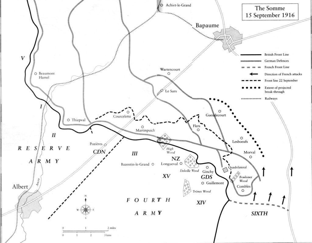 Первая Мировая война танковое сражение