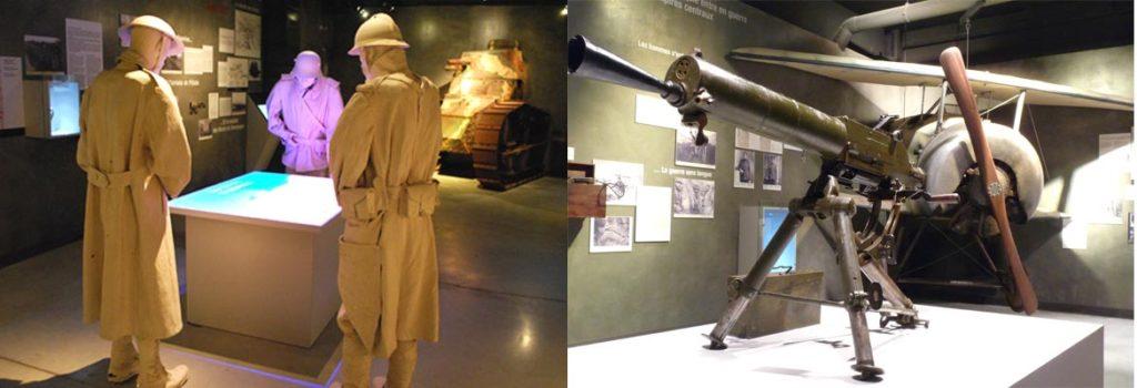 Военные музеи в Шампани, Первая Мировая война