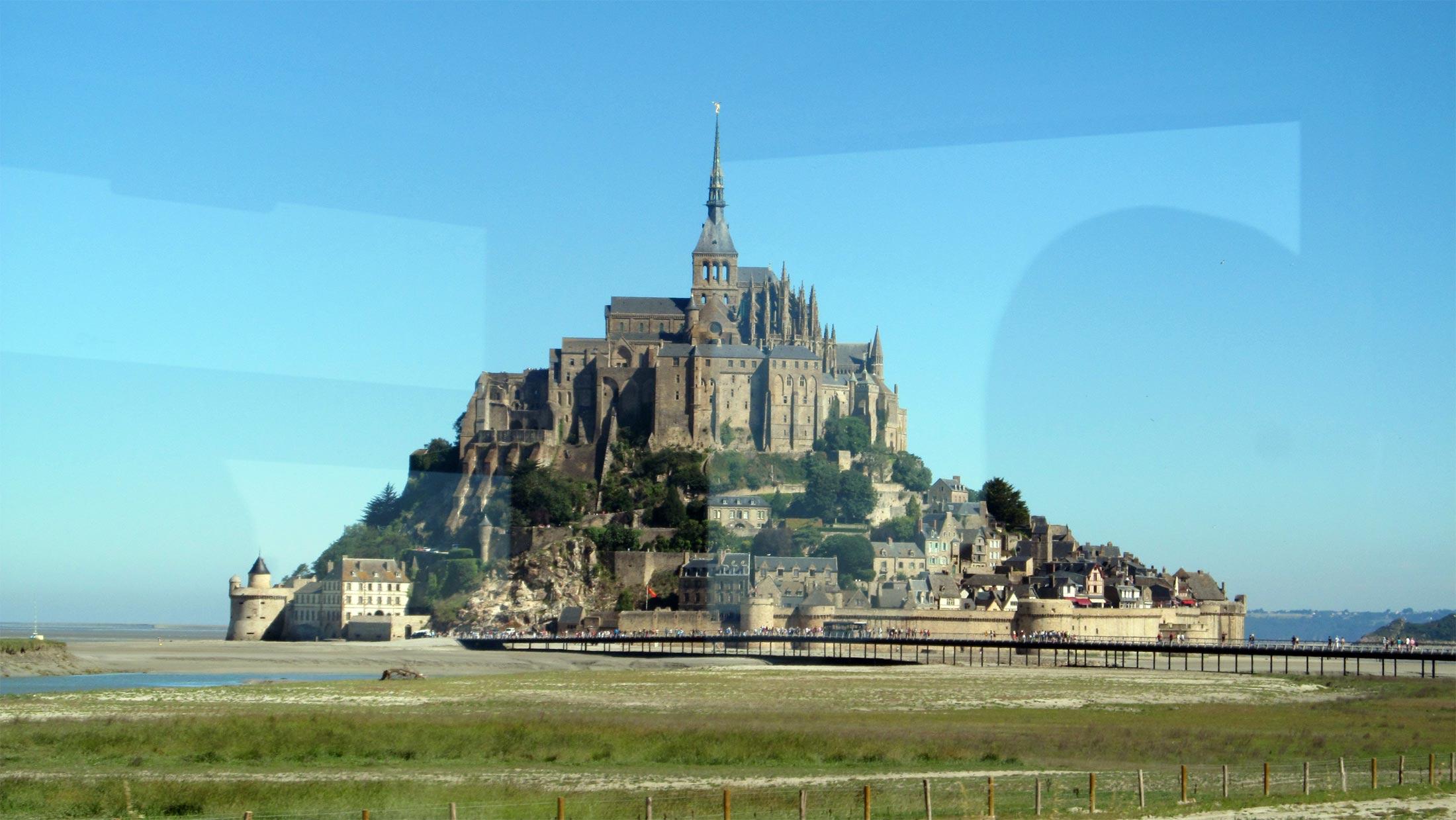 Поездка из Парижа в Мон-Сен-Мишель