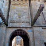 ворота в крепость Мон Сен Мишель